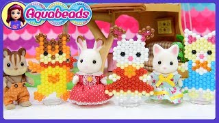 Calico Critters Sylvanian Families Aquabeads DIY Craft - Kids Toys