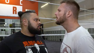 Bronson Reed challenges Shane Thorne to a match: WWE Exclusive, Aug. 20, 2019