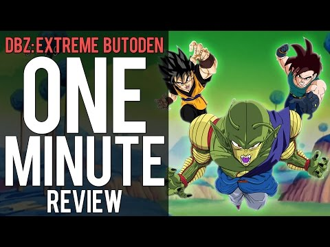 Dragon Ball Z: Extreme Butoden | One Minute Review