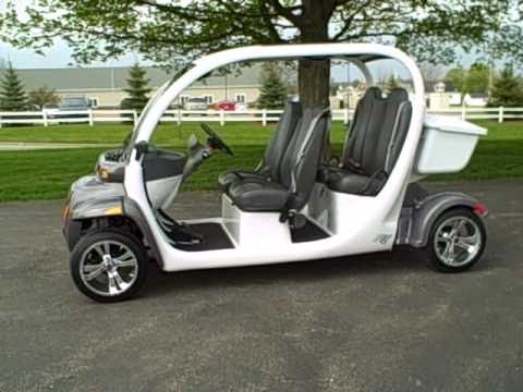 Gem Electric Car 72 Volts Many Upgrades To Go Fast