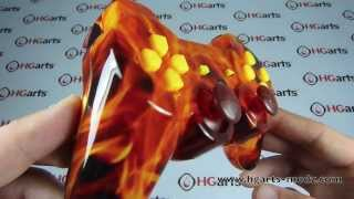X-Fire Edition | PS3 Modded Controller | HG Arts Modz