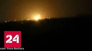 """Израильтяне разбомбили склады шиитского движения """"Хезболлах"""" в районе Дамаска"""