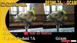 Pasang Gcam di Redmi 7A No Root No UBL