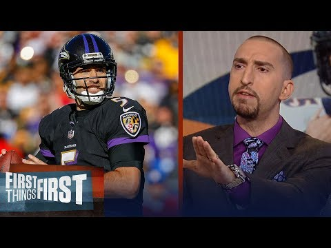Nick Wright calls Broncos trade for Joe Flacco a terrible move  NFL  FIRST THINGS FIRST