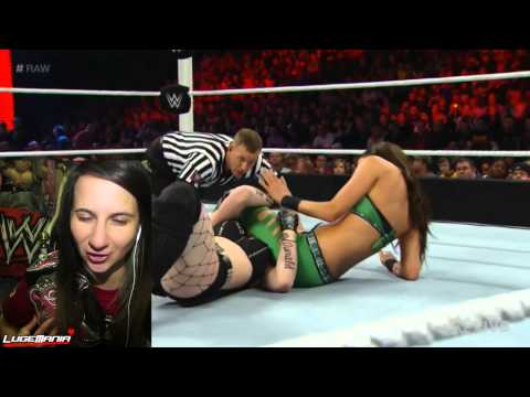 WWE Raw 2/9/15 Paige vs Brie Bella Live Commentary