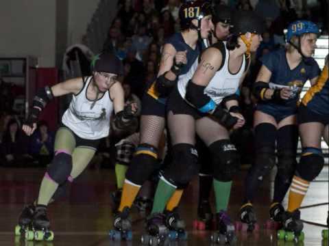 Riot Roller Roller Derby Riot Squad vs