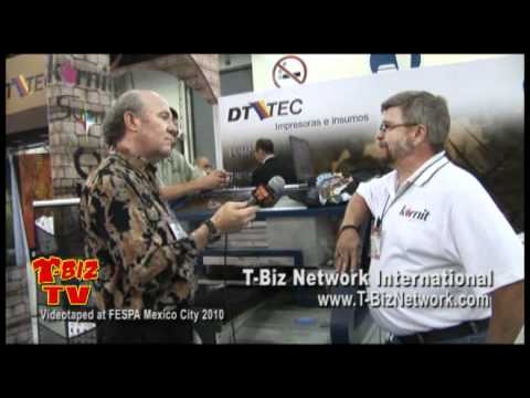 Kornit Digital Interview at FESPA Mexico 2010