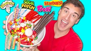 WE MELTED EVERY POPULAR CANDY TOGETHER!?