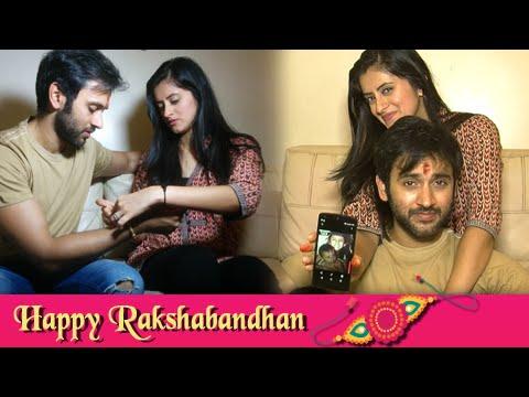 Mihika & Mishkat Varma Celebrate Raksha Bandhan