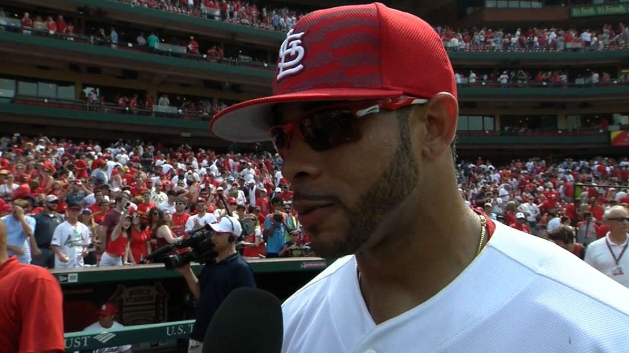 SD@STL: Pham on his performance in win over Padres