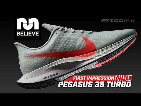 First Run in the Nike Pegasus 35 Turbo with Zoom X