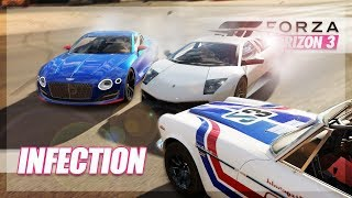 Forza Horizon 3 - COMPLETING THE 1 MINUTE INFECTION! Fails, Funny Moments