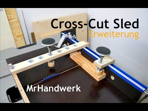 cross cut sled anleitung deutsch german. Black Bedroom Furniture Sets. Home Design Ideas