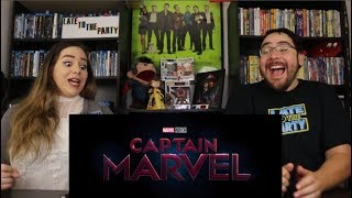 Captain Marvel - Official Trailer Reaction / Review