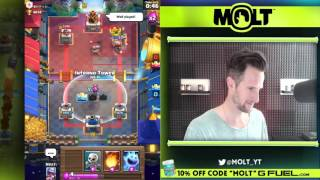 GAMINGwithMOLT - What are the TOP 4 DECKS in Clash Royale!