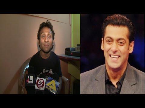 Must Watch what Salman Khan did for his fan Atul Bhaskar Ingle.