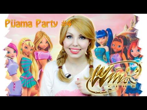 Pajama Party 4: Winx Club: Тайна Затерянного Королевства (Обзор мультфильма от Una Fata)