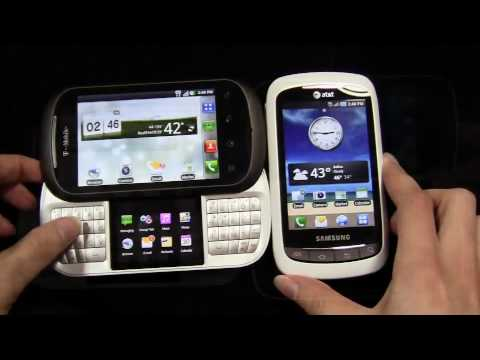 Samsung DoubleTime vs. LG DoublePlay Dogfight Part 1