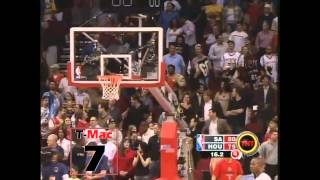 Tracy McGrady - 13 Puntos en 33 Segundos