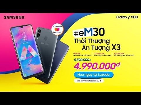 Samsung Galaxy M30 #eM Thời Thượng Ấn Tượng X3
