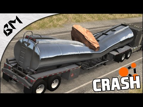 BeamNG Drive - TRUCK CRASH - Senseless Destruction #2 - Crash Test