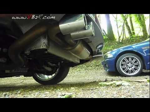 bmw serie 1M coupé comparatif son acceleration vs  M3 E46 / sound test serie 1M / M3 E46