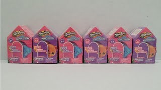 Shopkins Rainbow Beach Happy Places Blind Bags Opening