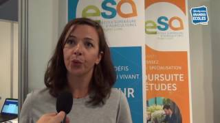 Découvrez l'ESA Angers : l'école des agricultures...