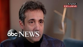 Michael Cohen on Trump: 'Don't believe what he is saying'