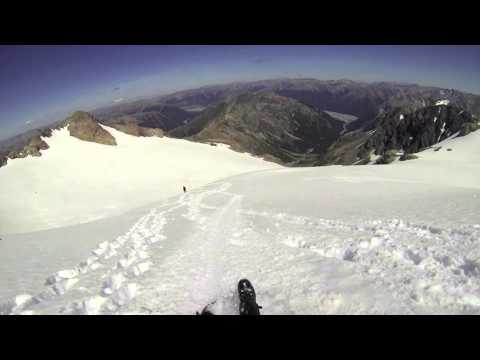 Mt Rolleston 2013 Mountaineering New Zealand Summer Arthurs Pass klip izle