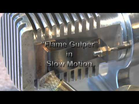 HOW A FLAME LICKER ENGINE WORKS