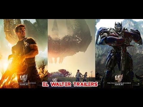 Transformers 4 La Era de la Extincion Trailer de Big Game Subtitulado.