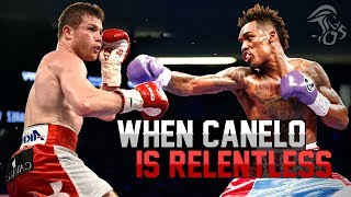 When Canelo Alvarez Is RELENTLESS In The Ring!