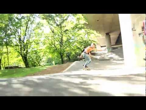 concrete surfing - Wasted Longboarding