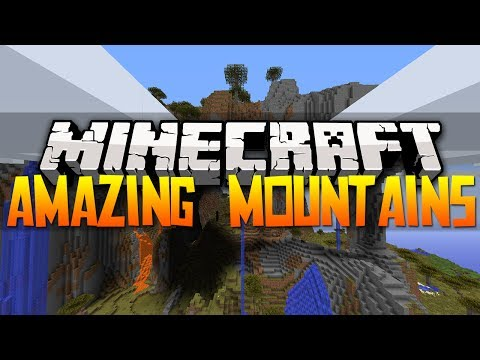 Minecraft Best Seeds - AMAZING MOUNTAIN | Savanna Biome | 1.7.4 (HD)