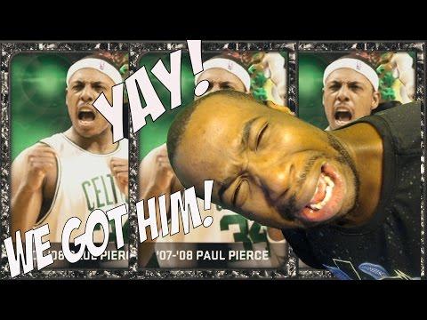 WE GOT HIM! PAUL PIERCE! NBA 2k15 MyTeam Throwback Thursday New Onyx Paul Pierce!