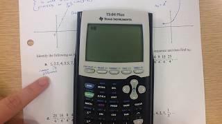 Algebra II 8.1 Part 1 Sequences