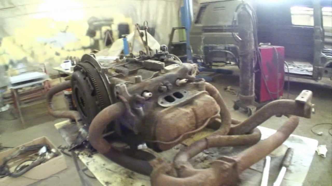 Ремонт двигателя своими руками фольксвагена