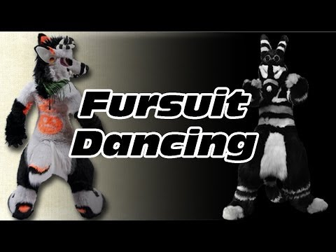 Fursuit Dancing: Albino Topaz