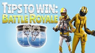 TIPS TO WIN!  (Fortnite Battle Royale)