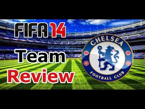 FIFA 14 Team Review / Chelsea F.C. Best Line-up / Key Players / Tactics / Formations