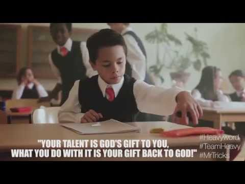 YOUR TALENT IS GODS GIFT TO YOU! WHAT YOU DO WITH IT IS YOUR GIFT BACK TO GOD!