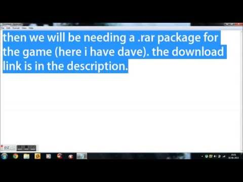 Tutorial - How to Install Dangerous Dave on Windows 7.8