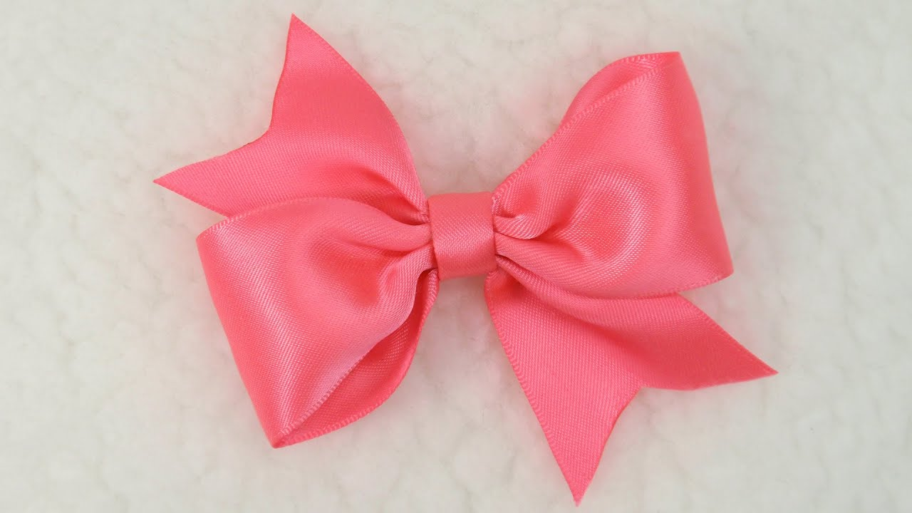 How To Make Simple Craft Bows