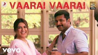Bogan - Vaarai Vaarai Tamil Lyric | Jayam Ravi, Hansika | D. Imman