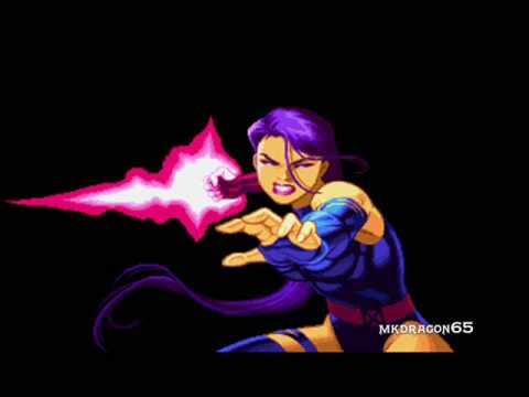 Marvel Super Heroes OST, T10 -  Psylocke