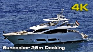 "Sunseeker Docking ""like a boss"" [4K]"