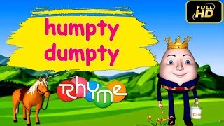 Humpty Dumpty Music Videos for Children, Kids Songs, Baby Songs,Nursery Rhymes HD