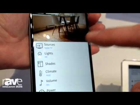 InfoComm 2015: Crestron Demonstrates PinPoint Mobile Application