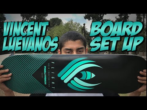 VINCENT LUEVANOS BOARD SET UP AND CRAZY SESSION !!! - NKA VIDS -